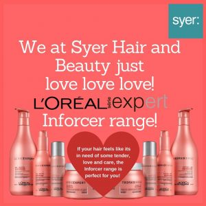 L'Oreal hair products at syer hair & beauty salon in Sutton Coldfield