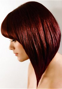 gorgeous red bob, glass hair trends 2018, syer hair salon, sutton coldfield