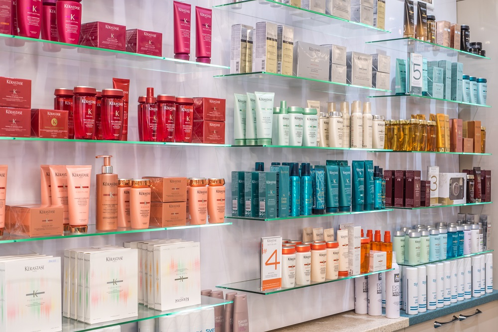the best hair products at syer hairdressing salon in sutton coldfield
