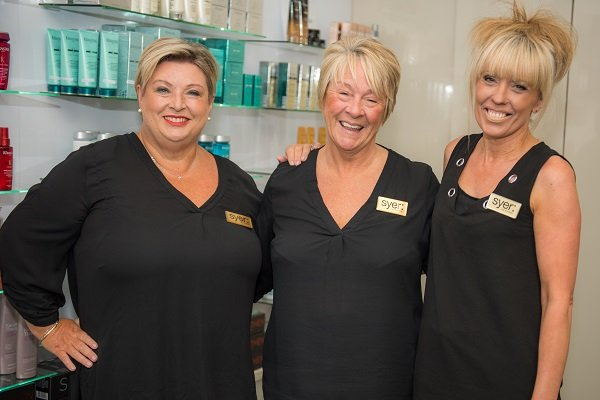 Front of House team at Syer Hair & Beauty Salon in Sutton Coldfield