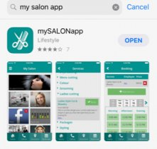 hair appontment booking app, syer hair and beauty salon in sutton coldfield