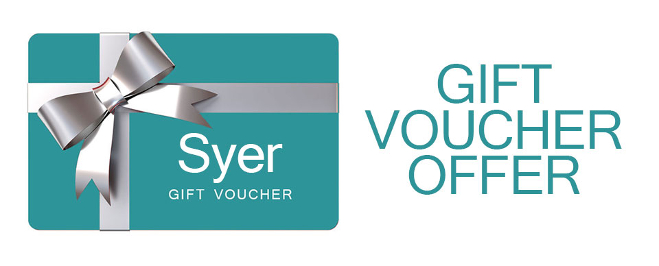 Christmas Gift Voucher Offer, gift card discount, Syer Hair & Beauty Salon, Sutton Coldfield