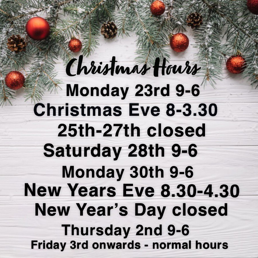 Syer Christmas Hours, Christmas & New Year's Opening Hours, Syer Hair & Beauty Salon, Sutton Coldfield